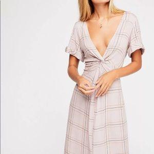 Free People Bon bon twist dress